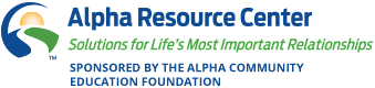 Alpha Resource Center - Solutions for life's important relationships