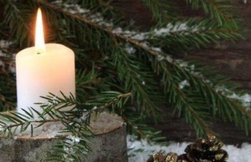sad candle christmas